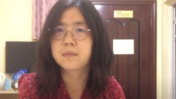 La exabogada Zhang Zhan había sido detenida en mayo.